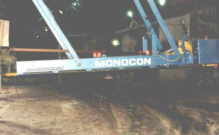 Monocon roof mounted dart machine